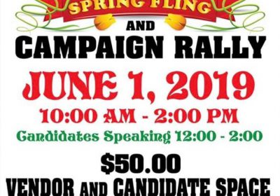 Terry's Spring Fling and Campaign Rally