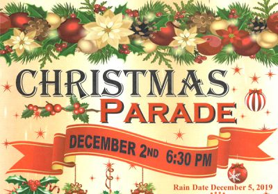 Christmas Parade Route & Application