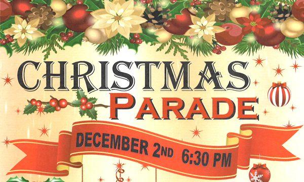 Christmas Parade Route & Application