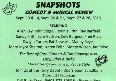 Snapshots – Comedy & Musical Review