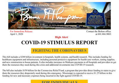 COVID-19 Stimulus Report