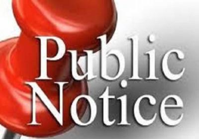 Public Notice – Zoning Amendment